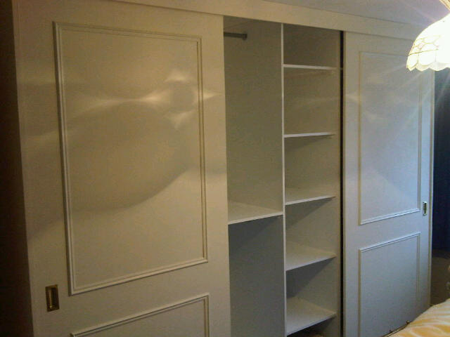 Bespoke Full Height Fitted Wardrobes With Sliding Doors